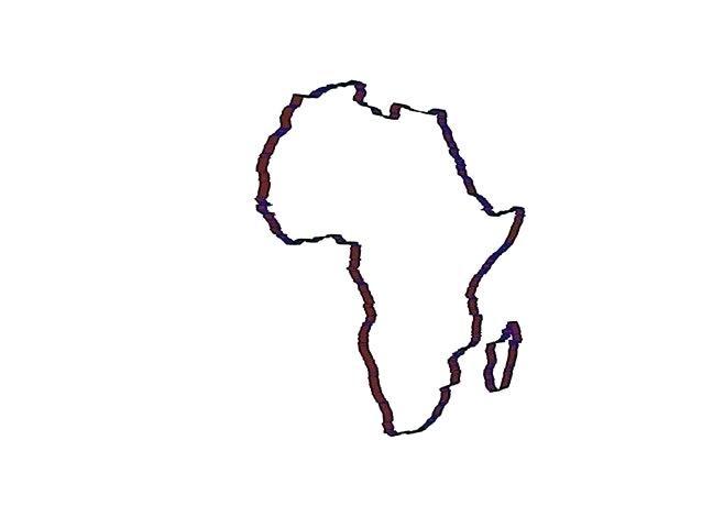 638x480 Drawing Of Africa Nip