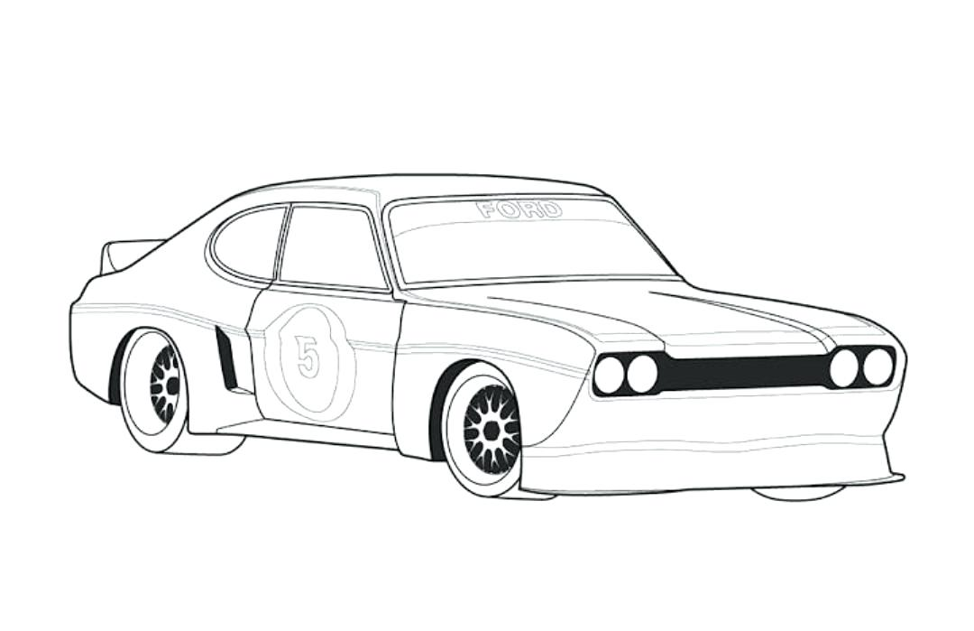 1080x699 Easy Drawing Of A Car