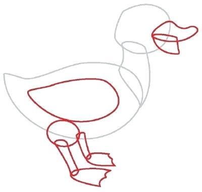 400x379 drawing of a duck duck drawing drawing duck image zupa