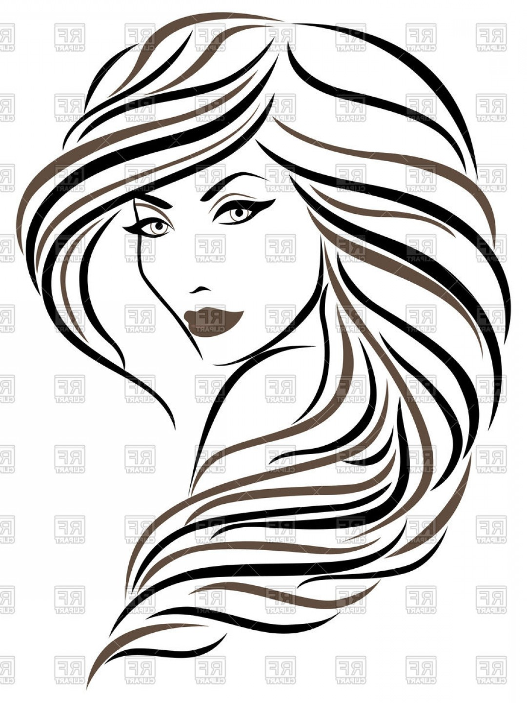 1080x1440 Woman Face Vector Art Sohadacouri