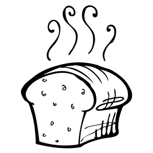 300x300 Collection Of Free Bread Clipart Yeast Bread Amusement Clipart