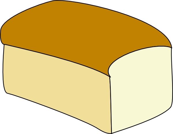 600x465 Loaf Of Bread Clip Art Free Vector In Open Office Drawing