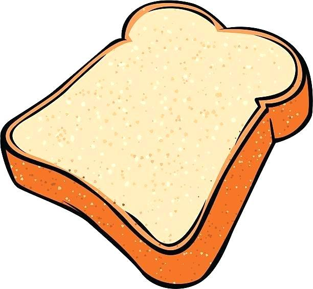 612x565 slice of bread drawing bread royalty free slice of slice bread