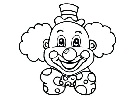 582x430 clown coloring pictures clown coloring pages beautiful clown mouth