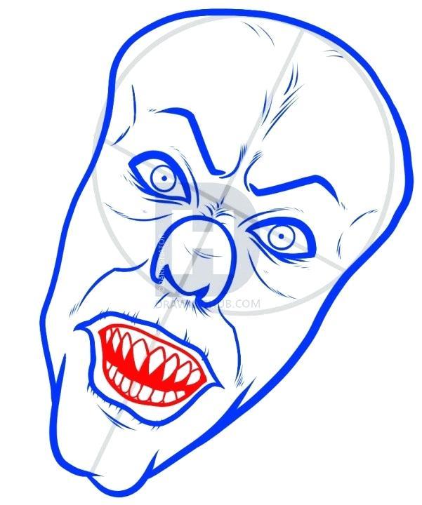 601x720 Draw Clown Clown Draw Something