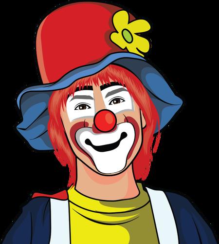 450x500 Evil Clown Clipart Free