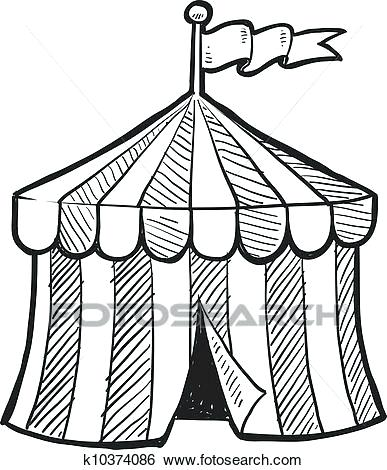 387x470 Drawing Of A Circus