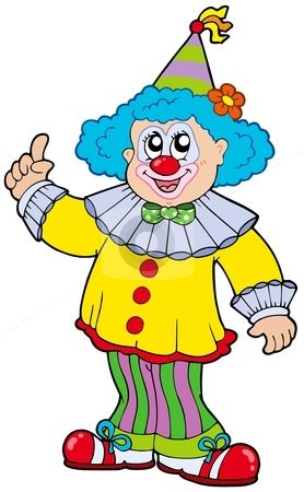 278x450 Funny Clown Pictures Funny Smiling Clown Stock Vector Clipart