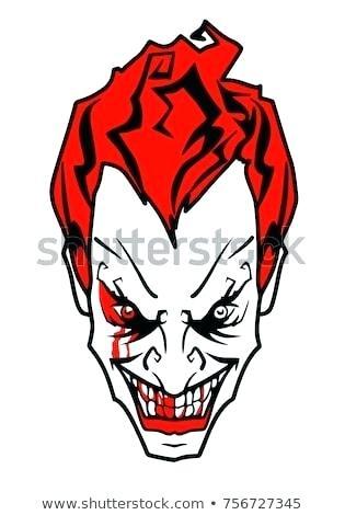 315x470 Joker Face Drawing