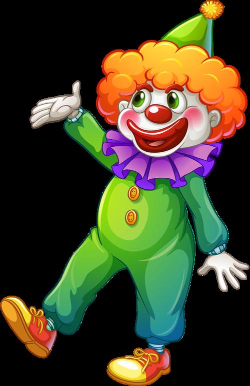 500x773 Clowns Clip Art Clowns In Circus Illustration, Clown