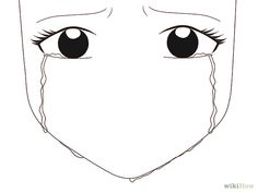 Drawing Of Someone Crying