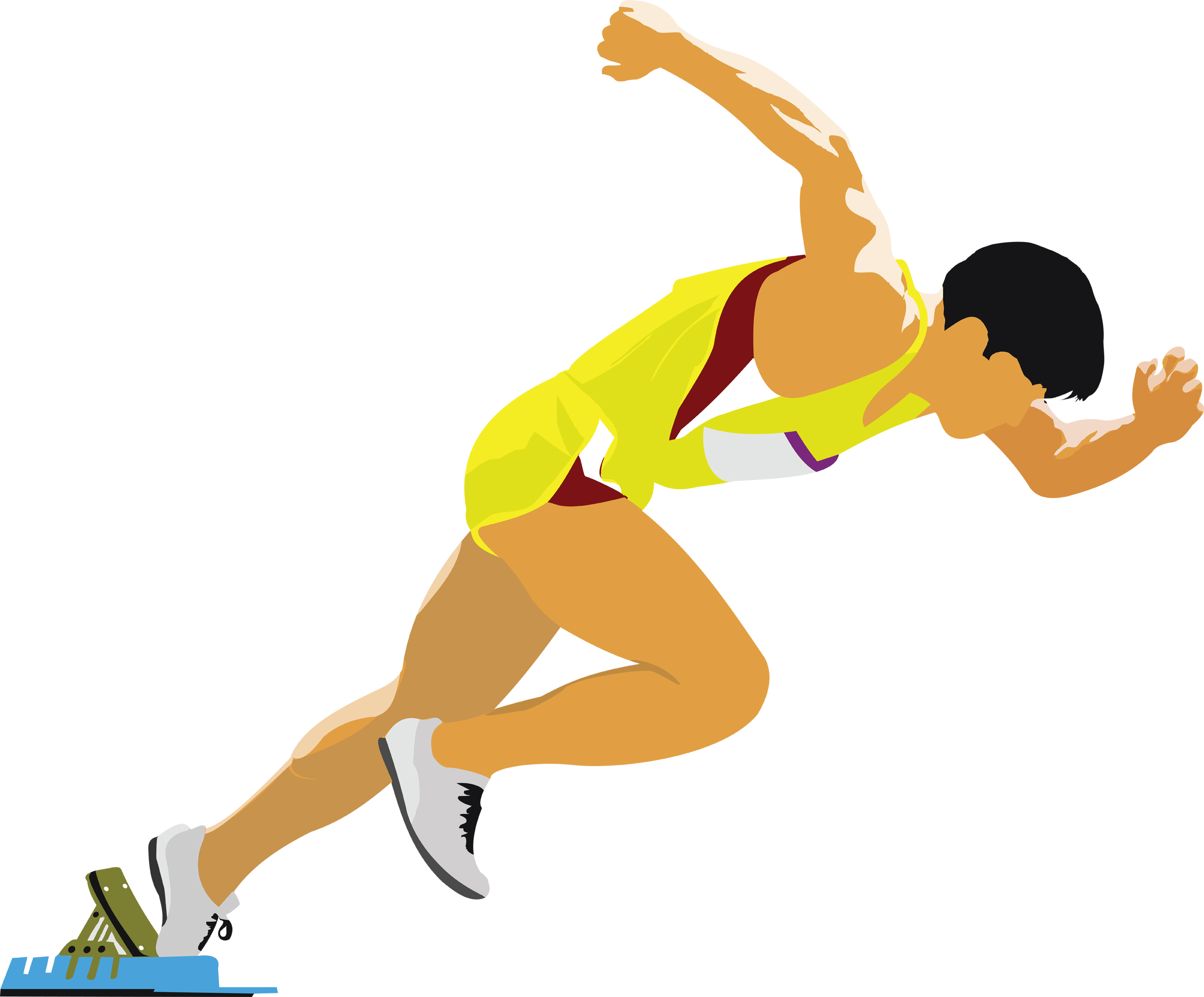 2400x1986 someone running clipart a running girl illustration of a running