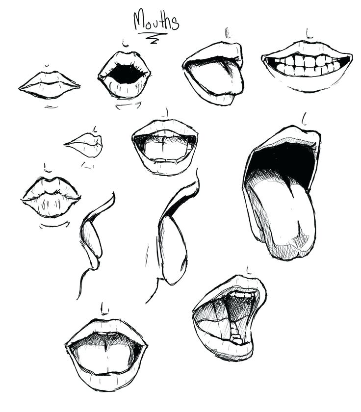 736x840 how to draw a smile tips on drawing teeth smile draw smile
