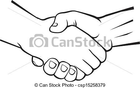 450x284 Hand Shaking Drawing At Getdrawings Com Free For Personal Use