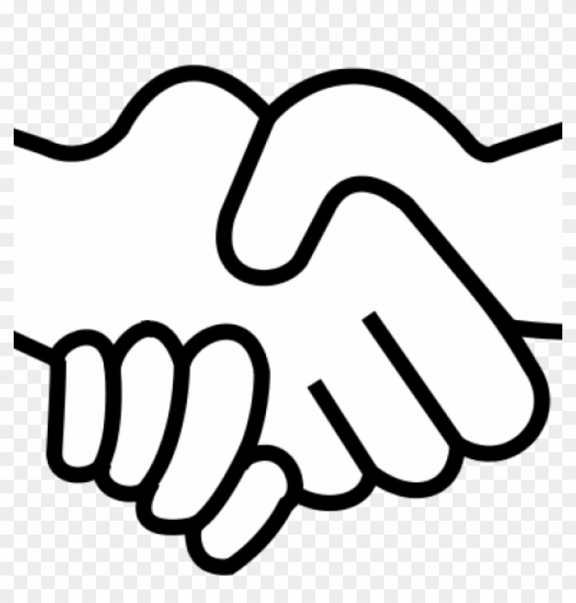 840x880 Shake Hands Clip Art People Shaking Hands Drawing
