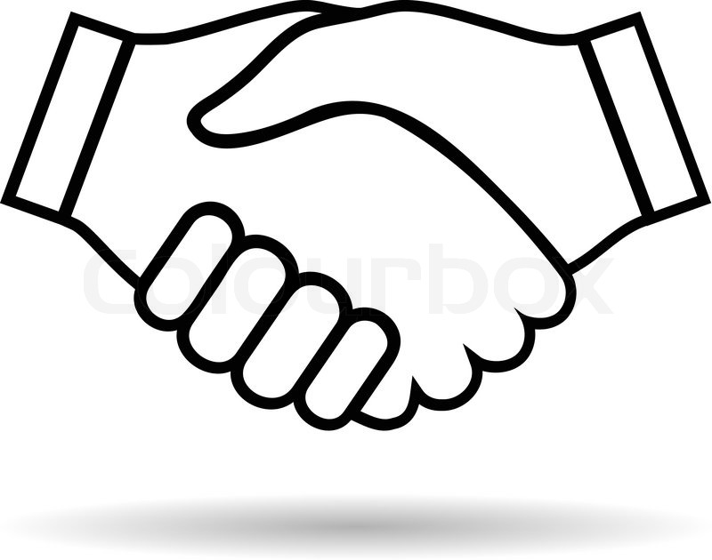 800x630 Handshake Drawing Easy For Free Download