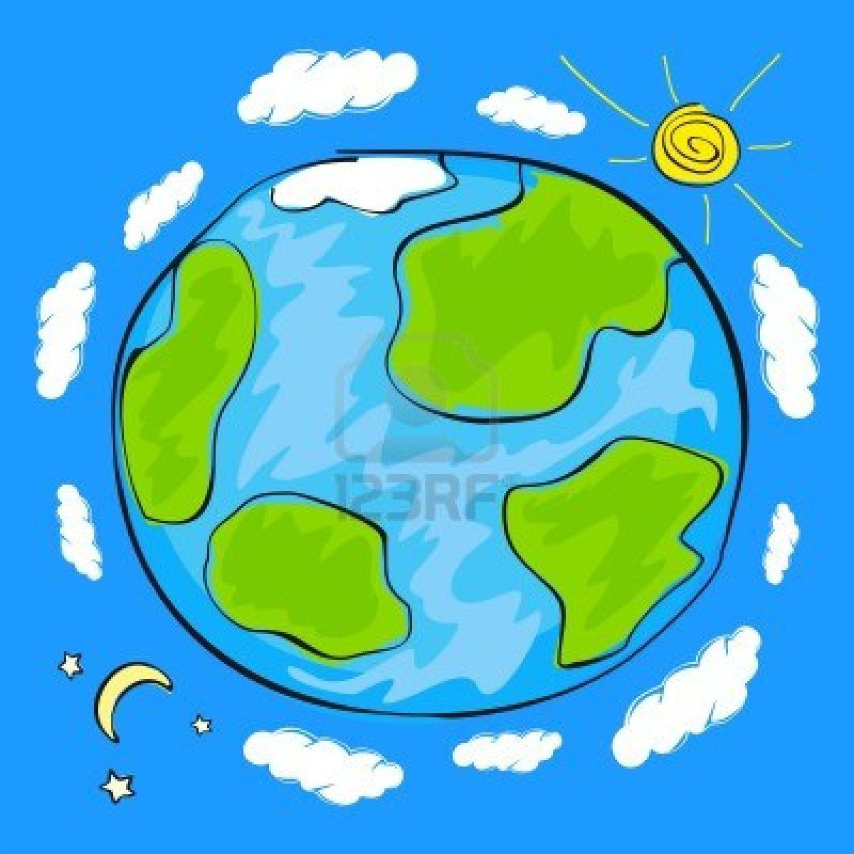 1200x1200 Stock Vector In Tattoo Planet For Kids, Earth Drawings