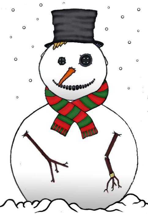 484x700 We Got Snow!