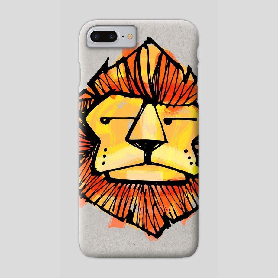 920x920 Childish Lion Illustration Or Drawing B, A Phone Case