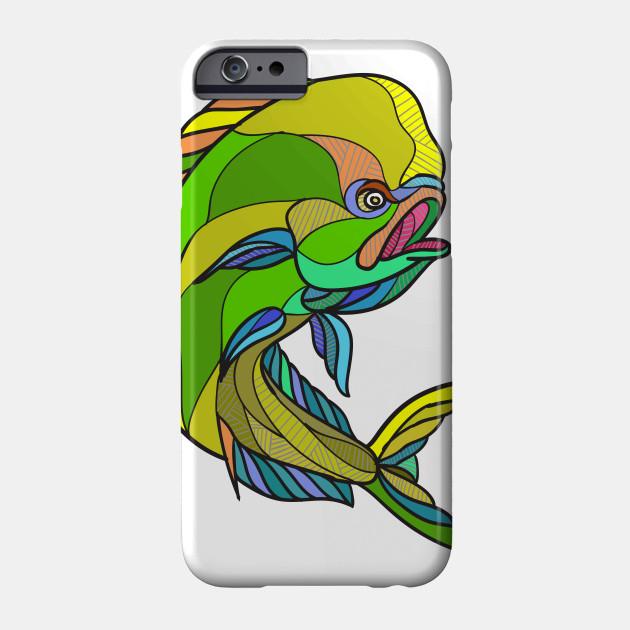 630x630 Mahi Mahi Dorado Dolphin Fish Drawing