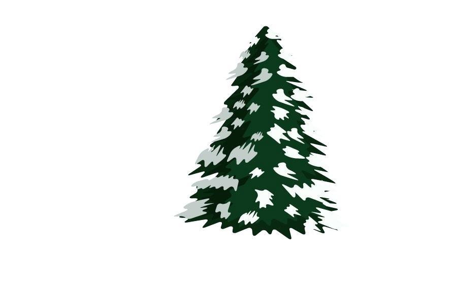 900x580 pine drawing drawn snow pine tree drawing pine tree drawings free