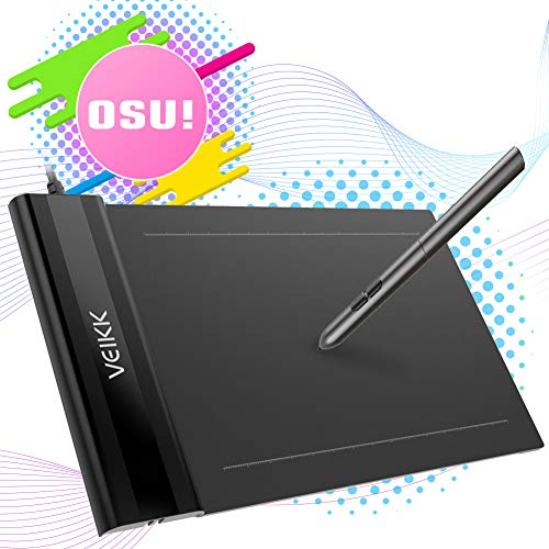 500x500 osu tablet veikk ultra thin inch graphics drawing tablet