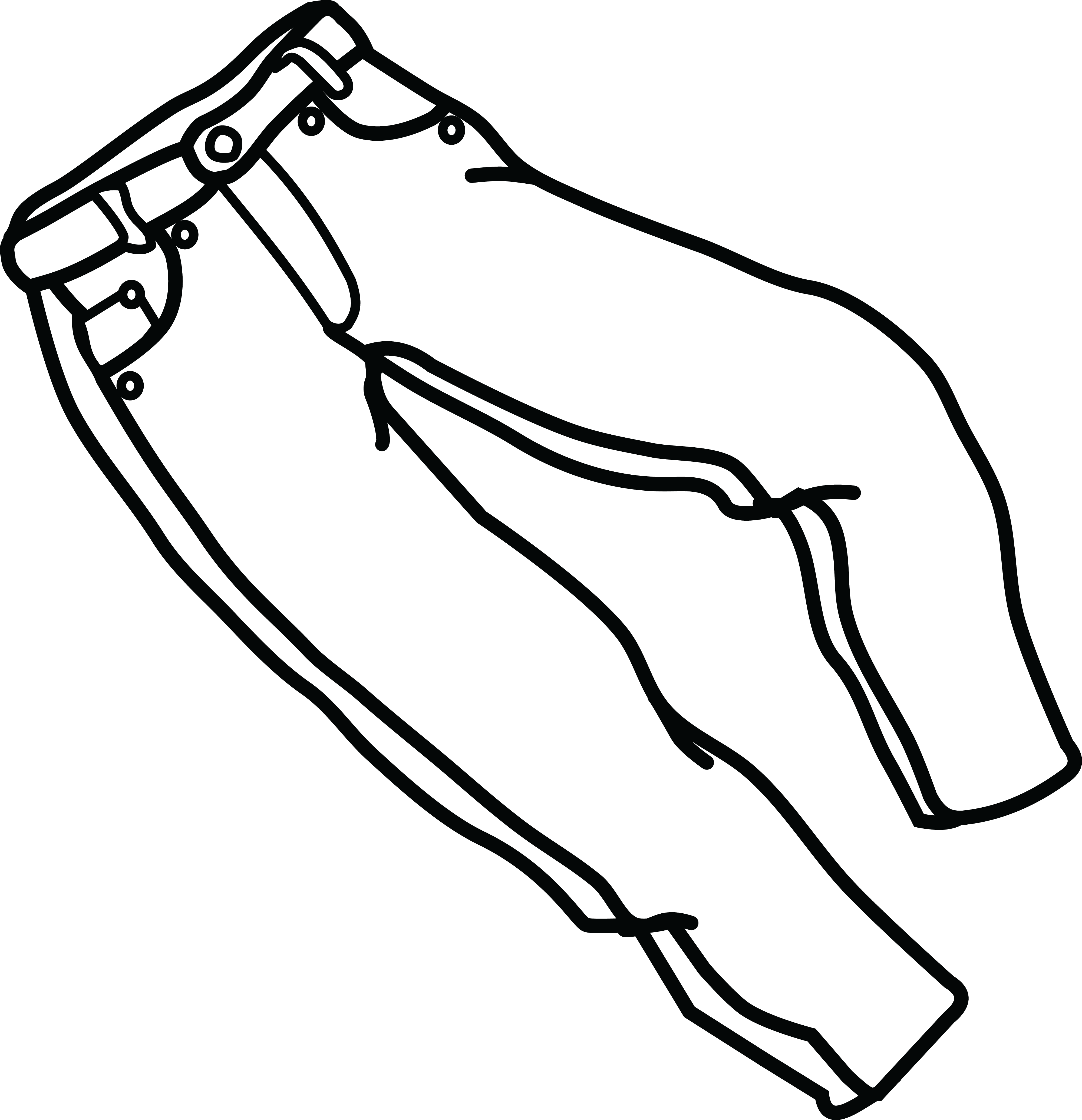 4000x4141 Cliparts For Free Download Zipper Clipart Jeans And Use