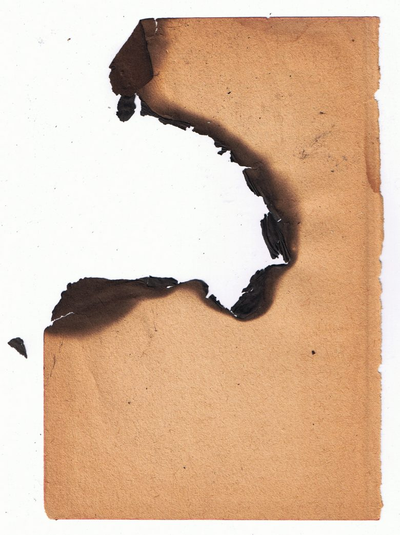 780x1042 Free Burned Paper Texture Texture