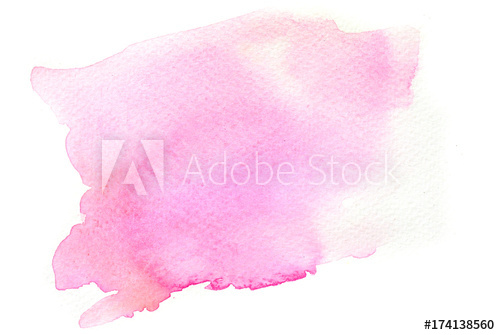 500x335 Abstract Pink Watercolor Background Texture, Watercolor Hand