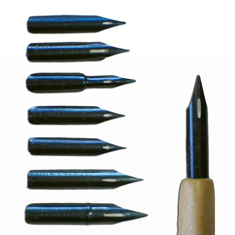 470x470 Joseph Gillott Drawing Pen Set