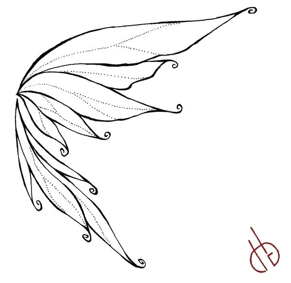 600x585 fairy drawing butterfly fairy fairy drawing easy