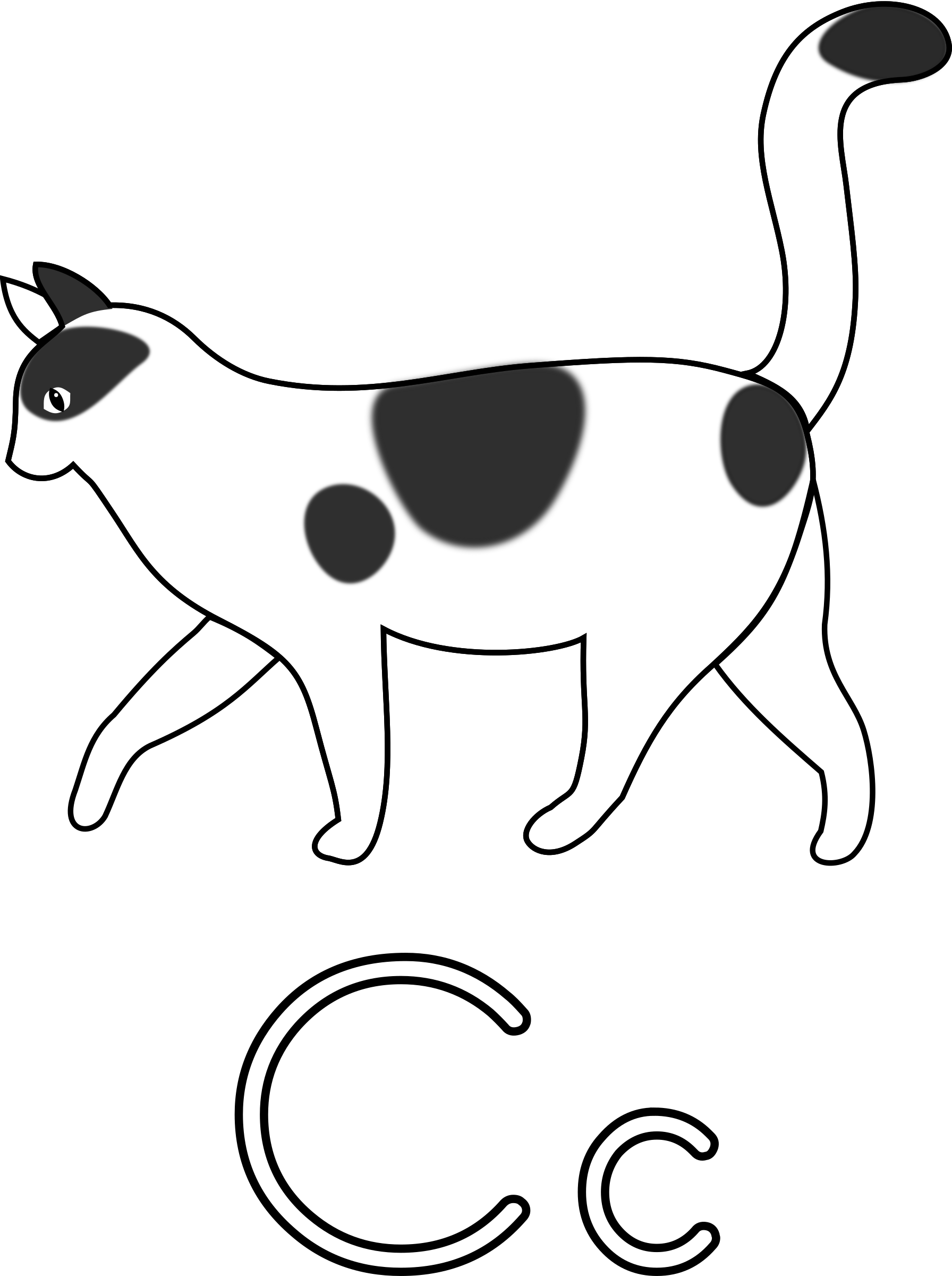 1792x2400 Collection Of Free Drawing Cats Letter Download On Ui Ex