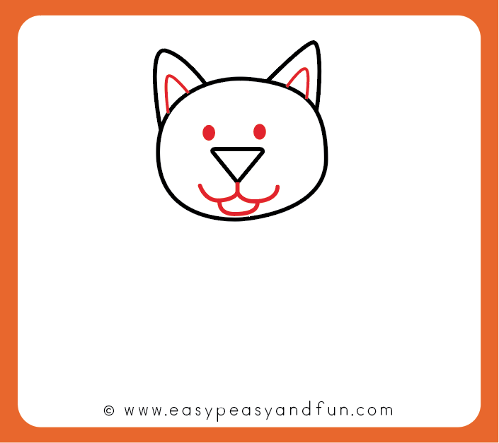 705x627 How To Draw A Cat