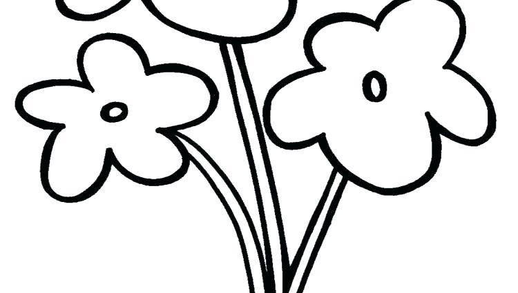750x425 Easy Flower Drawings