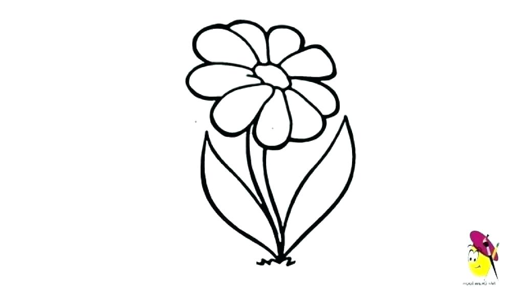 1024x576 How To Draw A Easy Flower