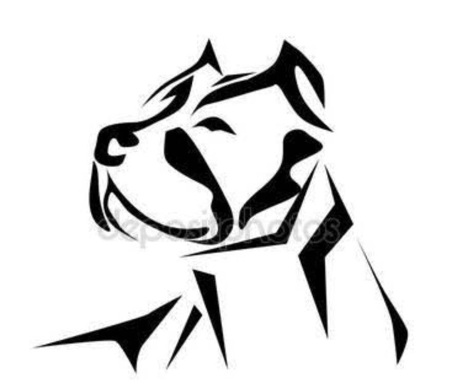 887x749 Bruiser Pit Pitbulls, Dog Tattoos, Pitbull