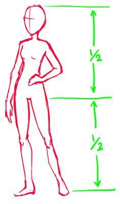 236x401 inspiring manga female body proportion images manga drawing