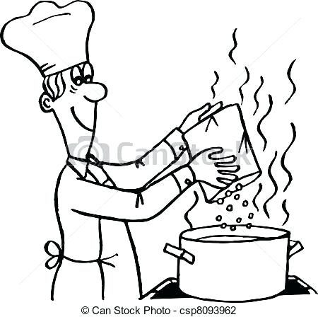 450x448 cooking drawing mother cooking food drawing lali