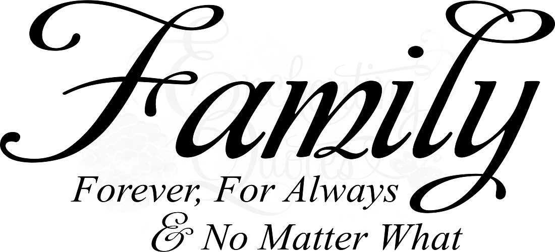 1100x500 Family Drawing Quote For Free Download