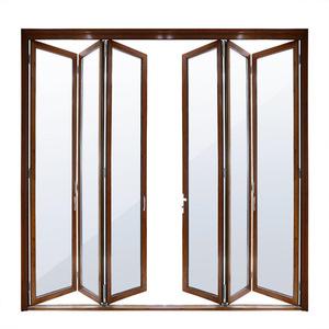 300x300 drawing room aluminium folding doors, drawing room aluminium