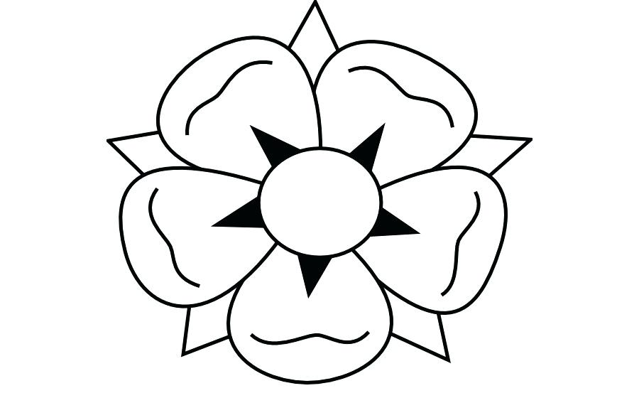 900x560 How To Draw Aflower How To Draw Flowers Draw A Rose Flower Step