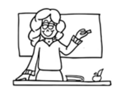 435x337 how to draw school teacher drawing on teacher day teacher drawing