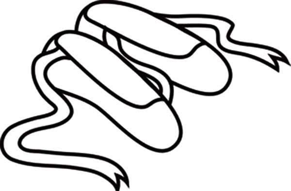 600x394 how to draw ballet shoes ballet pointe shoes drawing