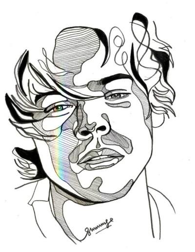 400x516 Harry Styles Sketch Tumblr