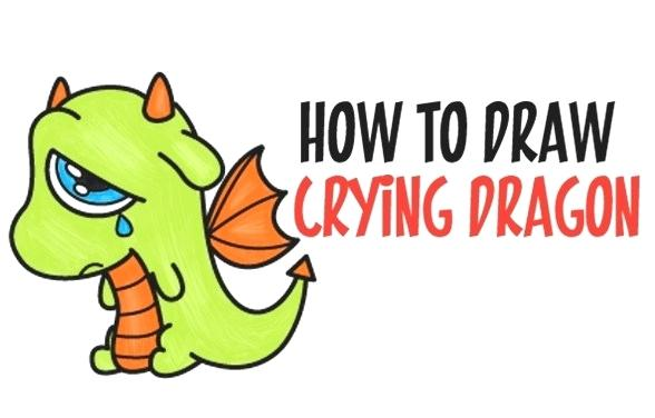 588x376 Drawings Of Dragons For Kids How To Draw A Dragon Luxury Kids