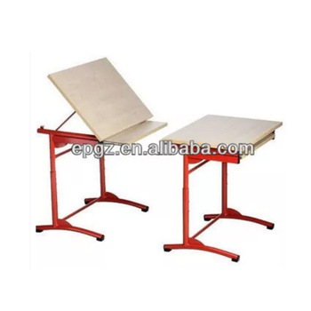 350x350 movable drafting table,drawing table,single school drawing table
