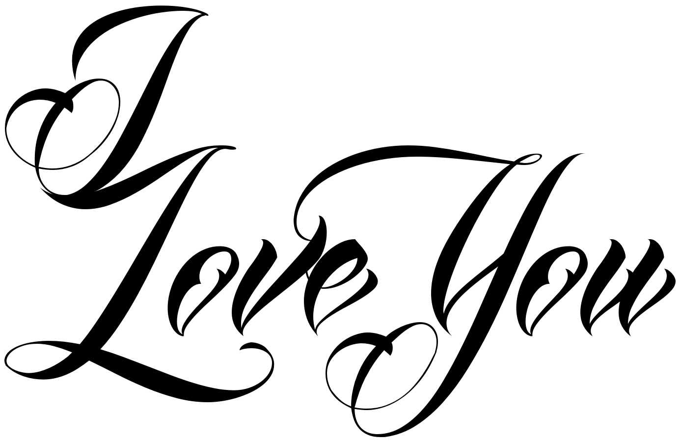 1387x900 Tattoo Font Online