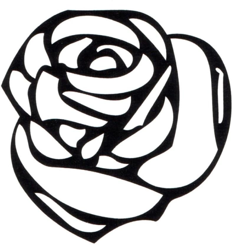 790x832 Smilendeal Smilendeal Rose Temp Body Tattoo