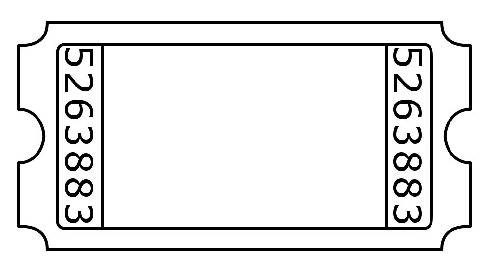 1000x570 admission ticket template template ticket template, ticket