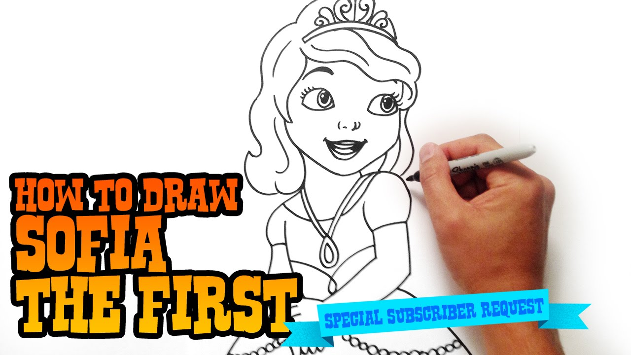 1280x720 How To Draw Sofia The First